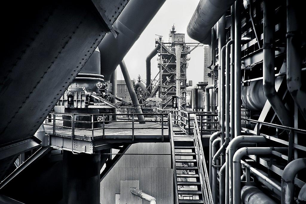 Industrie Fabrik