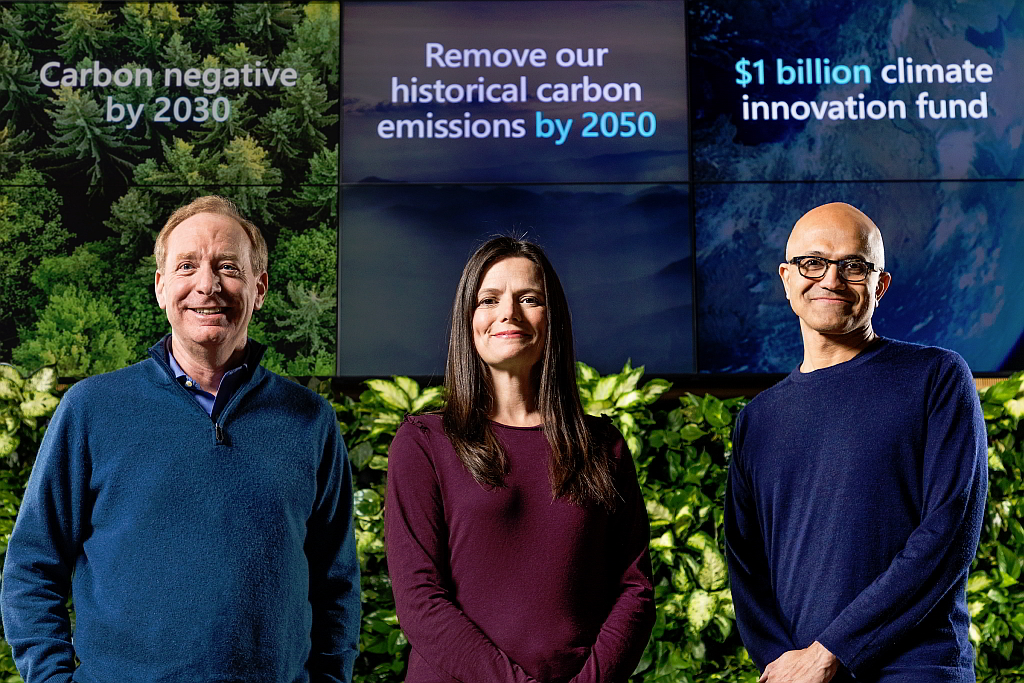 Präsentation Microsoft Klimaschutzprogramm
